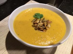 Buttrernut-soup