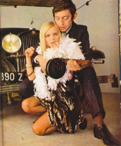 France Gall and Ginsburg