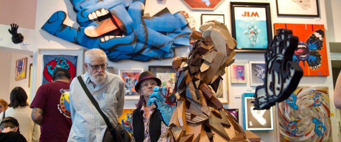 ביקור במוזיאון האומנות וההיסטוריה בסנטה קרוז