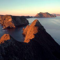 טיול באיי התעלה (Channel Islands) בסנטה ברברה