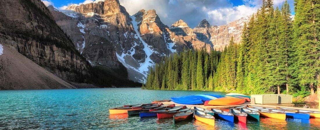 מסלולי טיול בהרי הרוקי הקנדיים (Canadian Rockies)