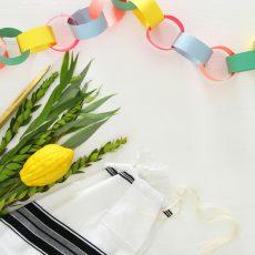 בונים סוכת שלום: ערכת פעילויות משפחתיות לחג הסוכות